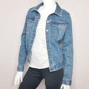 Calvin Klein Lightweight Denim Jean Button Jacket